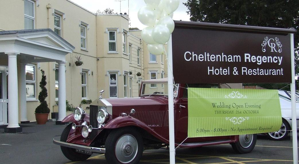 Cheltenham regency hotel wedding